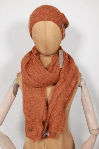 Nuevo conjunto de la tapa de la bufanda de Coccinelle tejer chal 200 cm x 60 cm 1-15 (129)