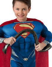 SUPERMAN curvabile Barra d'acciaio, Uomo di Acciaio per Bambini Accessorio Costume