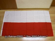 Fahnen Flagge Polen ohne Wappen Sonderposten - 90 x 150 cm