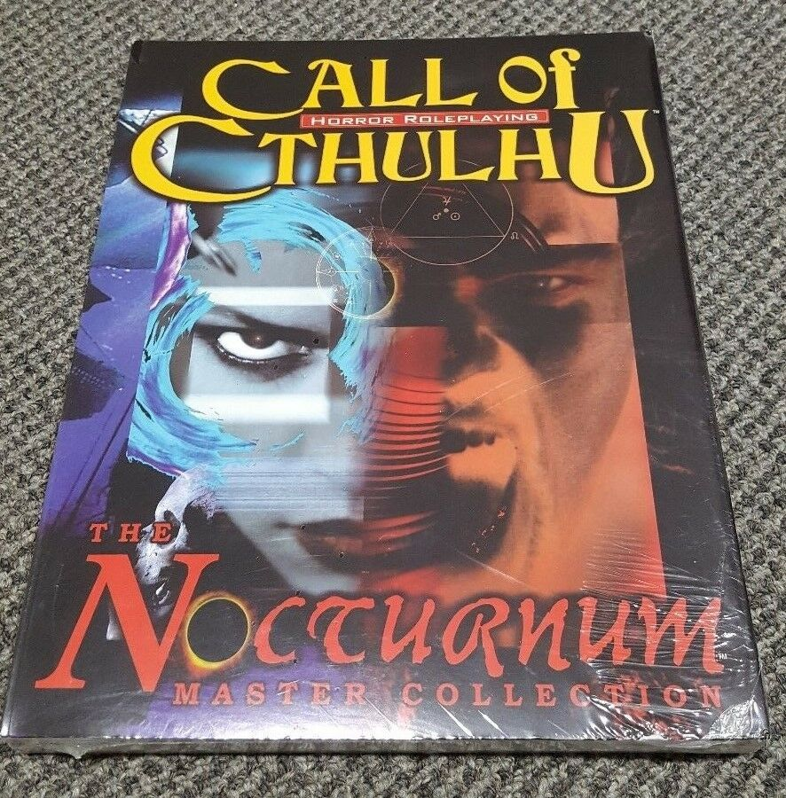 Ctutti of Cthulhu  - The Nocturnum Master Collection - Horror Roleplaying - nuovo   vanno a ruba