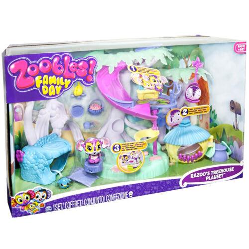 Zoobles Threehouse Play Set Con Personaggi e Accessori Giochi Spin Master