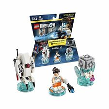 Lego Dimensions Portal 2 Level Pack 71203 Chell Sentry Turret Companion Sealed