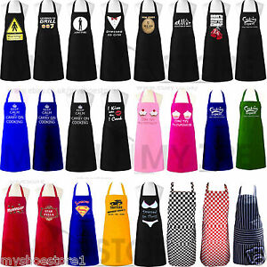 Funny Saucy Novelty BBQ Chef Cooking Aprons Kitchen Men Women Gift Adult Aprons