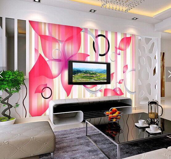 3D Circle Flower 559 Wallpaper Murals Wall Print Wallpaper Mural AJ WALL AU Kyra