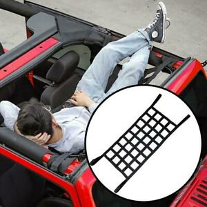 Auto-Dachgepaecktraeger-Mesh-Barrier-Cover-Gepaecktraeger-Gepaeckkorb-Net-Sunshade-v
