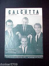 1960 CALCUTTA SHEET MUSIC FEATURING THE FOUR PREPS CAPITOL RECORDING