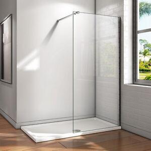 60x200cm paroi de douche italienne barre r glable verre de - Paroi vitree douche italienne ...