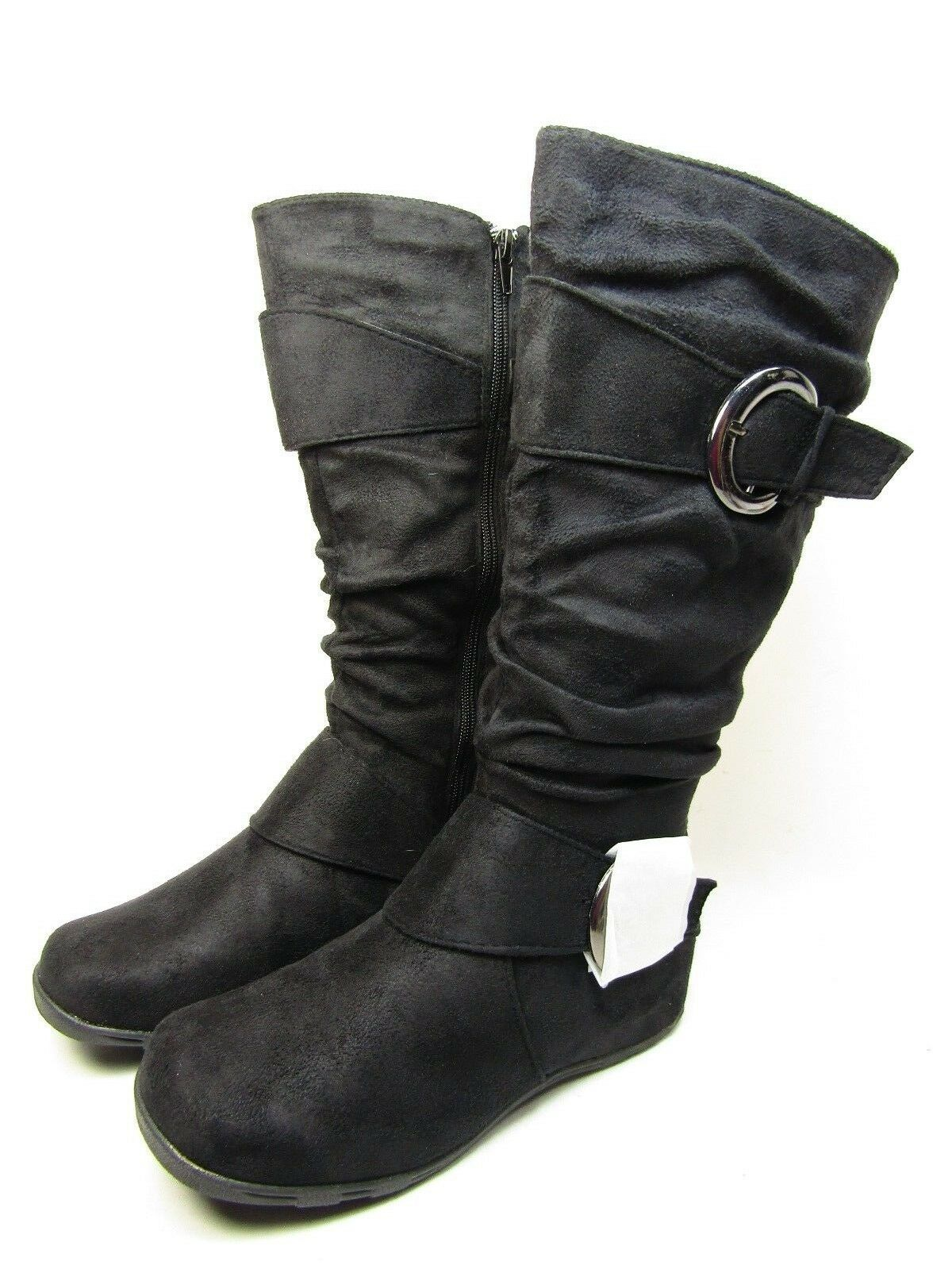 Journee Collection Black Jester-01  Women Boot Black Collection Size 7.5 M 198b66