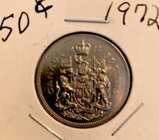 1972 50C Canada 50 Cents