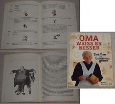 Eveline Kalckhoven Smit OMA WEISS ES BESSER DuMont Verlag Köln 1996