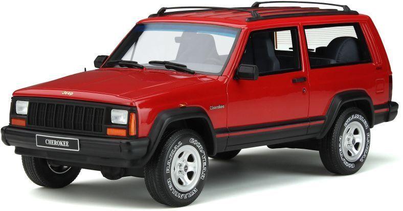 comprar ahora Otto Otto Otto Mobile 738 Jeep Cherokee 2.5 EFI modelo de resina rojo fuego Ltd Ed 1995 1 18th  salida para la venta