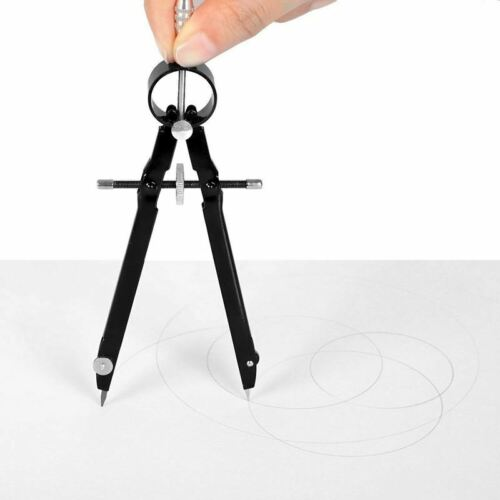 Compass for Geometry 6inch Spring Bow Comp Professional Compass with Lock