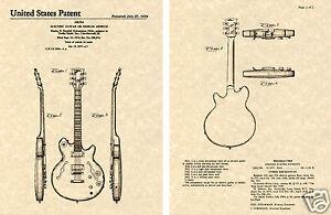 Gibson Les Paul Signature Es-335 Verni Estampe Guitare Prêt à Cadre Fantastiques CaractèRe Aromatique Et GoûT AgréAble