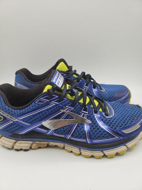 Brooks Men's Adrenaline GTS 17 1102411D453 Blue Black Running Shoes Size 9.5