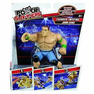 WWE Y0224 Power Slammers Thunder Twisting John Cena Toy Figure