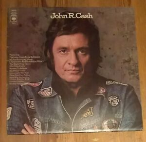 Johnny-Cash-John-R-Cash-S-T-Vinyl-LP-Album-33rpm-1974-CBS-S-80634-A1-B1