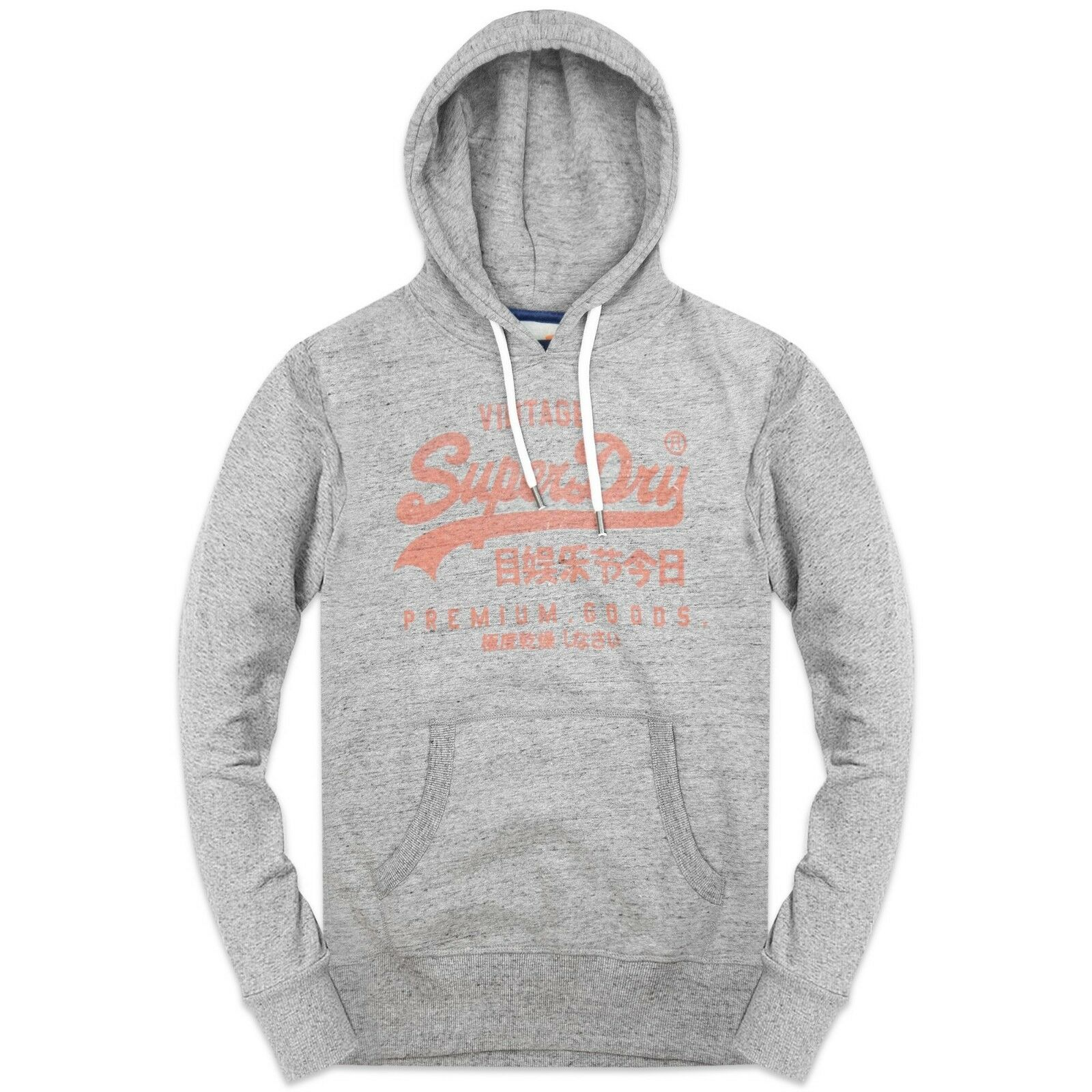 Superdry Hoodies - Superdry Premium Goods Hoodies - - - grau, Grün - M20000NR    | Internationale Wahl