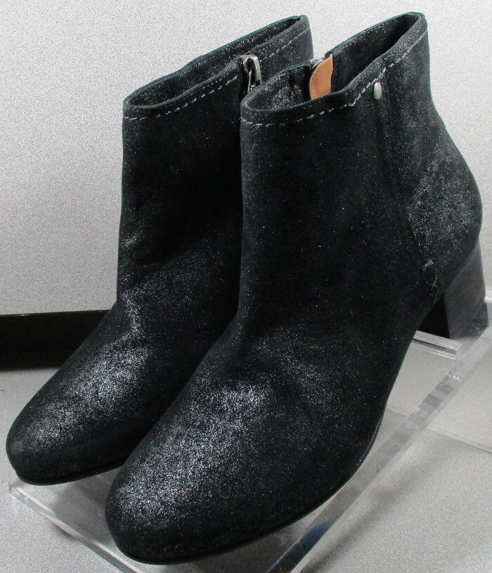 361361 ltftbtt 50 para mujer de tamaño del zapato 8 M Negro botas De Gamuza Cremallera H.S. Trask