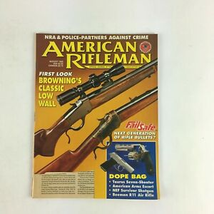 August-1995-American-Rifleman-Magazine-First-Look-Browning-039-s-Classic-Low-Wall