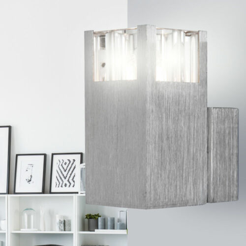 Moderner Wand Strahler Alu silber Design Lampe 420 Lumen Leuchte Beleuchtung