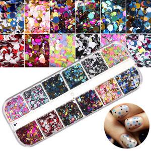 3D-DIY-Holographic-Laser-Manicure-Glitter-Dust-Sequins-12-Grid-Nail-Art-Flakes