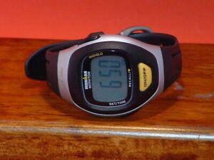 Pre-Owned-Timex-Black-Monitor-Digital-Sports-Watch