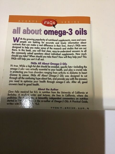 All about Omega-3 Oils by Clara Felix