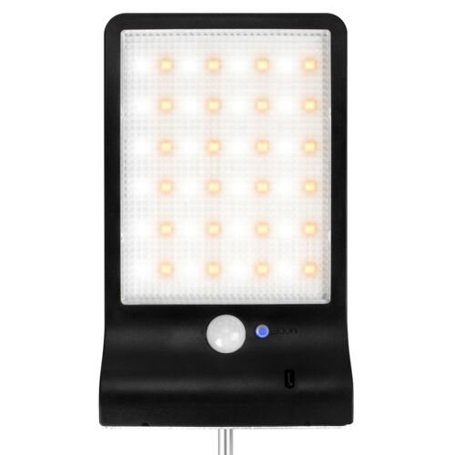 Waterproof Solar Outdoor Street Wall Lights LED PIR Motion Sensor Security Lamp