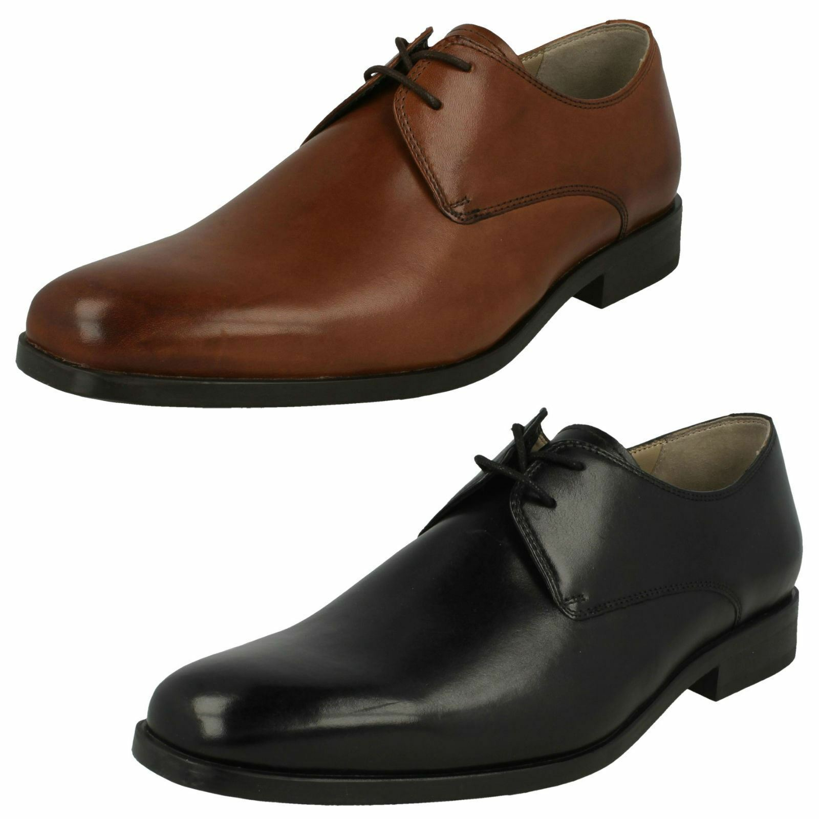 Mens Clarks Amieson Walk Formal Leather Lace Up shoes