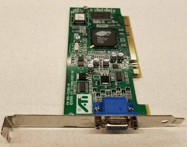 ATI 1027230611 Rage XL 8MB PCI Video Card w// VGA Port