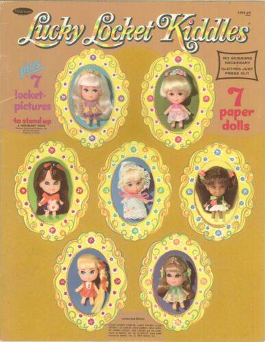VNTG 1960s LIDDLE KIDDLE LUCKY LOCKET PAPER DOLL RARE UNCUT LASR REPRODUCION FRE