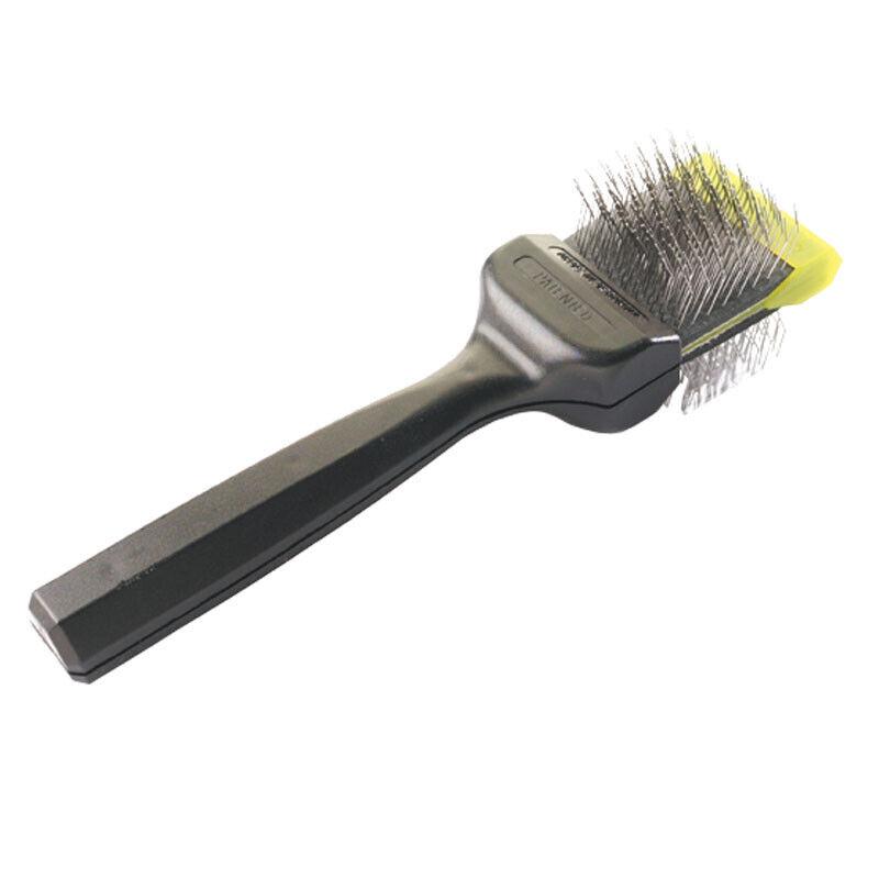 Les Pooch Grün Medium Single Pet Grooming Brush - De-Matts & Detangles