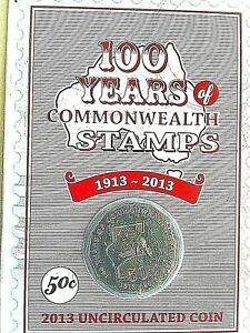 50c-Australian-Coin-2013-100-Year-of-Commonwealth-Stamps-50-Cent-UNC-in-card