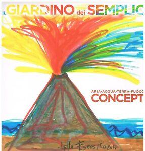 Il Giardino Dei Semplici: Concept (Aria - Acqua - Terra - Fuoco) - LP Gatefold