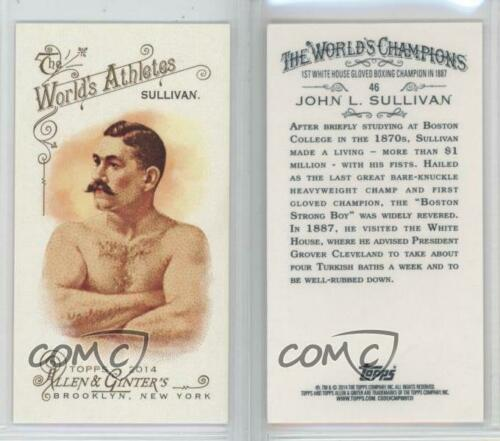 2014 Topps Allen /& Ginter/'s Mini #46 John L Sullivan Rookie Baseball Card