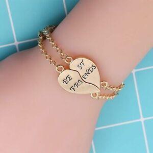 2 Best Friend Bracelets For 2 Bff Boy And Girl Charm Matching Bestie Friendship Ebay