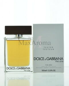Dolce and Gabbana The One For Men Tester Eau De Toilette 3.4 Oz 100 ... c80405224889