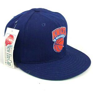 Vintage-New-York-Knicks-New-Era-Pro-Model-Fitted-Hat-Cap-Blue-Orange-Deadstock