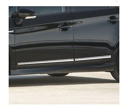 MIT Toyota PRIUS GEN III 2010-2015 door body side molding chrome