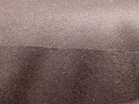 Wool, Angora, Cashmere -blend Coating - Deep Mahogany Brown - From Italy Soft