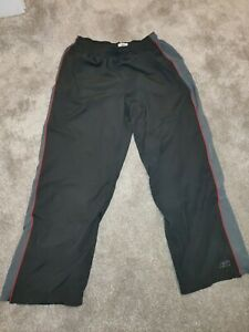 Reebok-ski-type-Pantalon-vintage-noir-gris-taille-XL