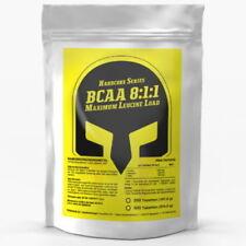 250 Tablets x BCAA 8:1:1 SUPER STRENGTH - Leucine Isoleucine Valine Amino Acids