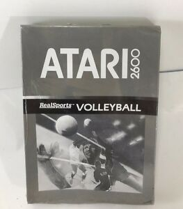 VOLLEYBALL-RealSports-ATARI-2600-Console-PAL-NEW-NUOVO-FACTORY-SEALED-Sigillato