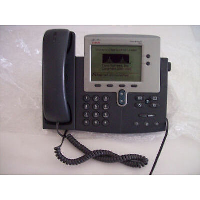 CISCO CP-7940G IP PHONE 7942G TWO BUTTON PHONE-PRODUCT IS IN USED CONDITION