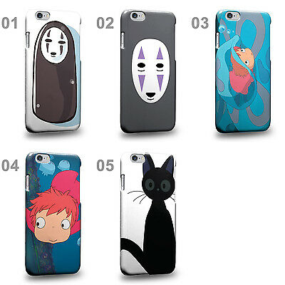 CASE88 Design Anime Series Spirited Away Hard Phone Case Cover