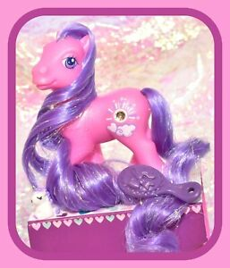 My-Little-Pony-G3-Silver-Lining-Super-Long-Hair-Tinsel-Pink-Purple-Jewel