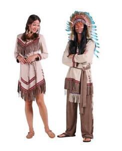 Indianer Apache Siox Indianerkleid Indianerkostüm Kostüm Häuptling Kleid Anzug