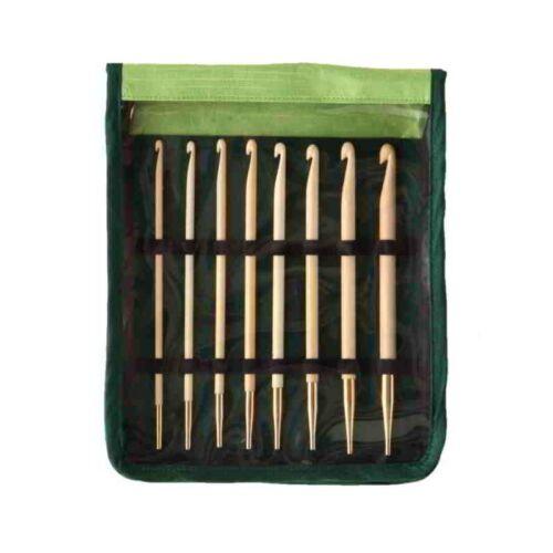 KnitPro Bamboo afghanisch tunesisches Häkelnadel Set Art 22550 Häkelnadeln