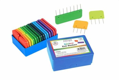 Knitters Pride Rainbow Colored Knit Blockers
