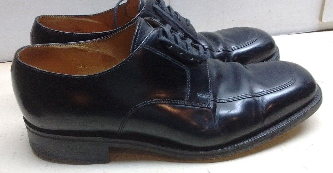 fino al 65% di sconto Loake Wye England nero Leather Oxfords Oxfords Oxfords Apron Toe Uomo Dress Lace Up scarpe 9 M  comprare sconti